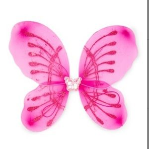 Hot pink LED light-up wings